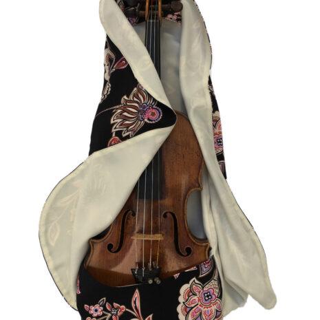ViolinCocoon Fashion Fleuri illustration